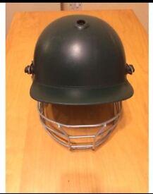 Albion Premiere Cricket Helmet ( Bottle Green)