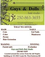 Guys & Dolls hair studio