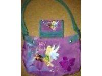 Tinkerbell bag and purse set