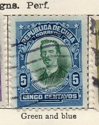 Spanish Caribbean 1910 Early Issue Fine Used 5c. 113690