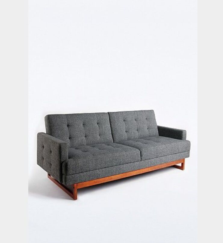 Corner Sofa Sale London: Urban Outfitters Mid Century Modern Vintage Style Sofa Bed