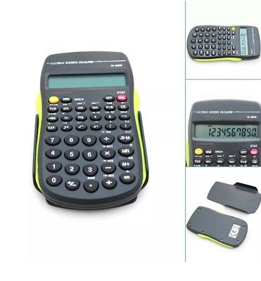 Scientific Calculator 10 Digit Electronic For School Exams GCSC Work Office