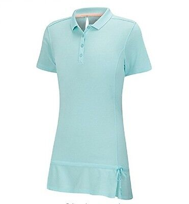 - Adidas Golf Girl's Climalite Advance Girls Pique Short Sleeve Polo Tag $55.
