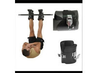 Abdominal six pack training boots fitness gym equipment inversion boots abs