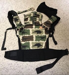 Tula Dino's standard baby carrier