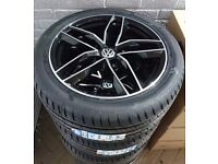 New VW T5/T6 RS6 wheels & tyres
