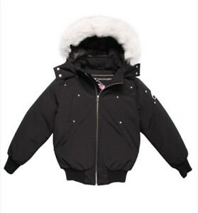 Moose Knuckles Girls' Bomber Jacket - Brand New