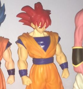 Dragon Ball Z Super Saiyan God goku Figure BIG