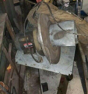 Dayton Portable Barrel Mnt Dust Collector Fan Motor 12 Hp Motor 3450 Rpm 115v