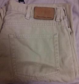 Mens Calvin Klein Jeans NWOT sz 36