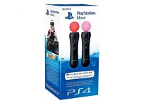 Brand NEW Playstation Move Controllers twin pack