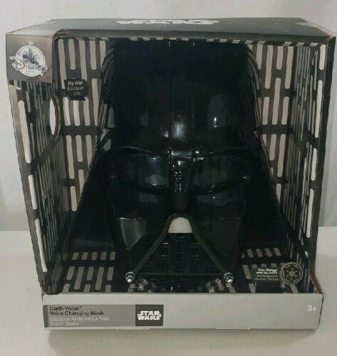 Disney Store 2014 Star Wars Darth Vader Voice Changing Talking Mask Helmet
