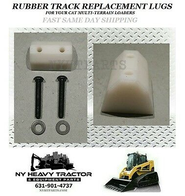 247 247b 257 257b Rubber Track Replacement Lug 3258624 Caterpillar Cat Rc50 Rc60