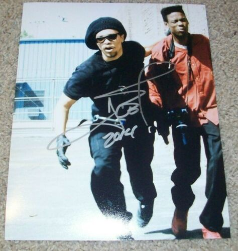 ICE-T SIGNED AUTOGRAPH NEW JACK CITY 8x10 PHOTO G w/EXACT PROOF LAW & ORDER SVU