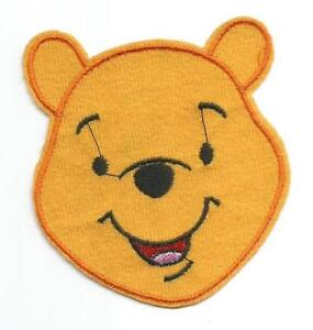 Winnie the Pooh Head Character Cloth Patch - Sew-on / Iron ...