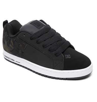 Scarpe Uomo Skate DC Shoes Court Graffik SE Black Camo 2019 Schuhe Chaussures - Dc Court Graffik Se Schuh