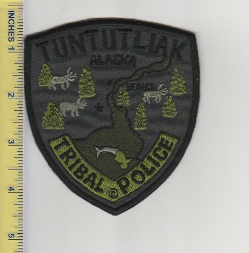 US Police Patch Tuntutliak Alaska Tribal Police Department Tactical