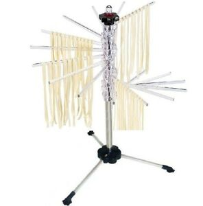New-Spiral-Pasta-Drying-Rack-For-Kitchenaid-Fettuchini-Makers-polycarbont-Strong