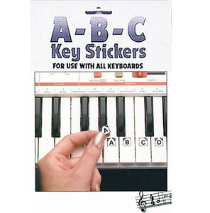Hal learn to play abc stickers for yamaha casio portable for Yamaha psr e423 for sale