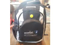 Rhino Six Nations Rugby Backpack / Gym Sports Bag, Brand New, never used