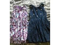 2 x girls dresses age 6-7