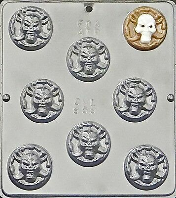Pirate's Coin Chocolate Candy Mold Halloween  959 NEW - Coin Chocolate