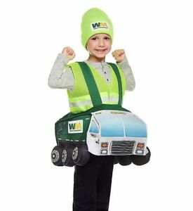 Garbage Truck Halloween Costume - One Size (2T-4T)