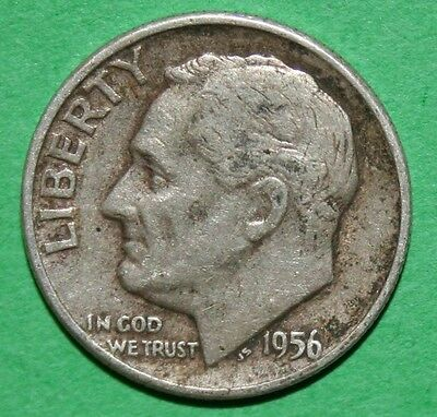 US ROOSEVELT SILVER DIMES 1956 1956 D 1957 1957 D 1958 1958 D PRICE EACH COIN