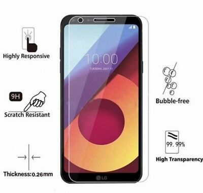 LG Q6 M700 High Quality Clear Transparent Tempered Glass Screen Protector for sale  Shipping to Canada