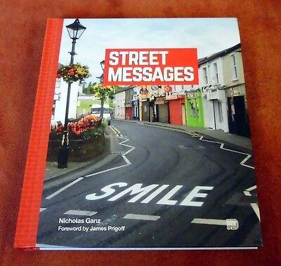 "Graffiti Buch / Magazine ""STREET MESSAGES"" Streetart Walls Banksy Above"
