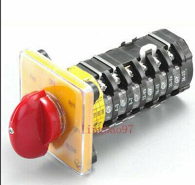 Bridgeport Milling Machine Parts Tools 8 Position 6 Speed Transfer Switch Set