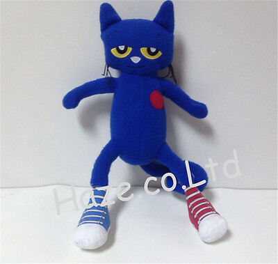 Pete The Cat Toys (New One Pete the Cat Blue Kitten Stuffed Plush Animal Toy Kid Gift)