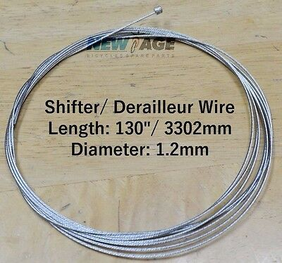 Shimano Tri TT Tandem Stainless Derailleur Shift Shifter Cable 3000 XLong 3000mm