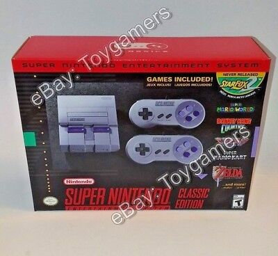 SNES Classic Edition - Wonderful NES - Nintendo Entertainment System Console - New