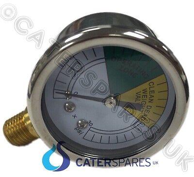 Pressure Gauge Meter Clock Henny Penny Fryer 500 Pfe-581 561 691 680 600