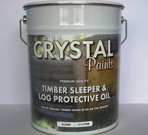 TIMBER SLEEPER OIL 10 LITRE & LOG PROTECTION QLD MADE Underwood Logan Area Preview