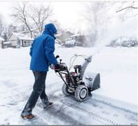 Snow removal (great prices)