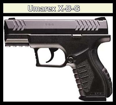 💥 Umarex X-B-G AIR GUN BB PISTOL CO2 Powered Black 410 FPS -