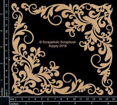 Scrapaholics Chipboard - Corner Flourish Set -