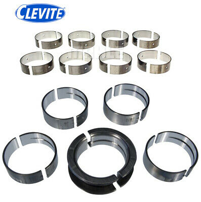 CLEVITE 77 CB634P MS590P Main+Rod Bearings Set Kit for Ford Windsor 289 302 5.0L