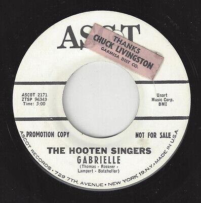 ♫HOOTEN SINGERS (Bjorn Ulvaeus ABBA) Gabrielle/Darling Ascot 2171 FOLK 1965 45♫