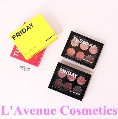 [Aritaum] Eye Shadow Weekly 7 Palette - Shimmer Matte  #7 Sunday K-Beauty Makeup