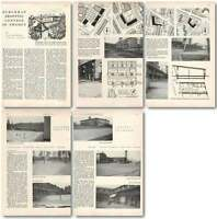 1952 Suburban Shopping Centres In Sweden, Jl Berbiers Architecture -  - ebay.co.uk