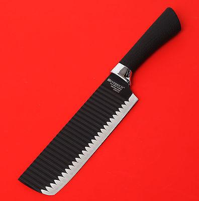 "EverRich Chef Knife 7"" Kitchen Sashimi Cook Deba Fish Home Easy Grip E_We"