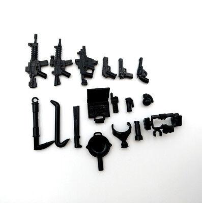 1601F Child New Compatible #1601F 5pcs Weapon Box Classic Custom Rare Kids #JJia