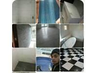 Tiller, plumbing 'painting, plaster, fllooring, briklayer