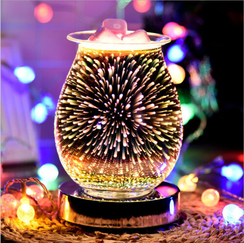 Fountain Aroma Accessories Oval 3D Electric Wax Melt Burner