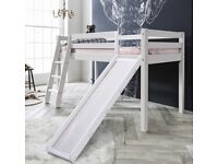 Moro Cabin Bed Midsleeper with Slide selling at £120 BNIB this is £209.99 to buy