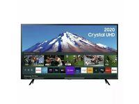 "Samsung 43"" TU7020 Crystal UHD 4K HDR Smart TV - Black"