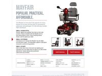 Mayfair class 2 mobility scooter